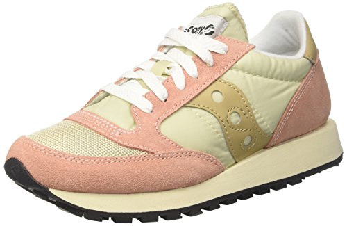 Saucony Jazz Original Vintage, Baskets Femme, Bleu Turquoise Rose (Tan/Mut Clay 31)