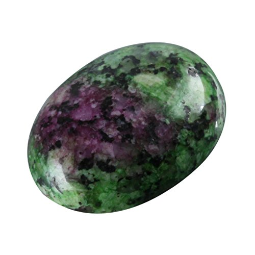 8pcs Top Quality Natural Ruby Zoisite Oval Cabochon Flatback Gemstone Cabochons 20x15mm GN18