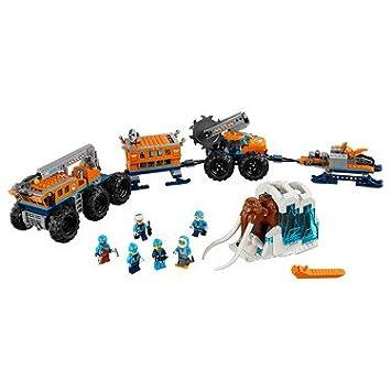 La Base Arctique Lego 60195 Mobile City D'exploration CedxEQBoWr