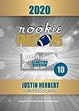 2020 JUSTIN HERBERT Rookie Football Card - Los