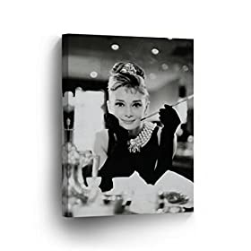 Audrey Hepburn Canvas Print Decorative Art Modern ...