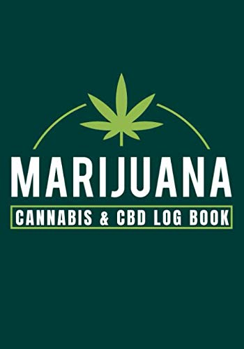 """41fJzeldpdL - Marijuana Cannabis and CBD Log Book: Personal Medical Journal 