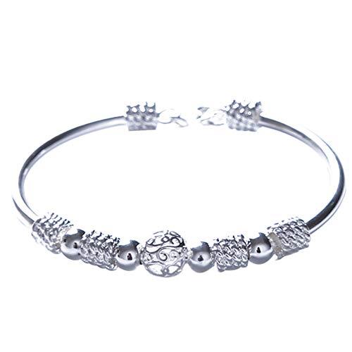 Myhouse Lantern Ornament Luck Beads Bracelet Charm Bracelet Bangle for Women Girls, Style 1