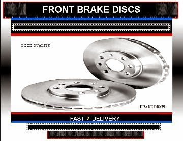 C-Crosser 2.2 HDi 2.4 Front Brake Discs 2007-2012