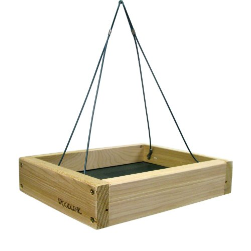 Woodlink Small Hanging Platform Bird Feeder (Small Platform Feeder Hanging)