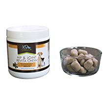 Glucosamine for Dogs Soft Chews - Fish Oil, Chondroitin & MSM Revita Treats - Vet Recommended Hip and Joint Supplement for Dogs, DHA & EPA Omega 3 Fatty Acids, Anti Inflammatory Joint & Arthritis Relief