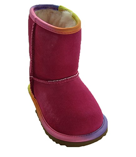 UGG Girls T Classic Short II Rainbow Pull-on Boot, for sale  Delivered anywhere in USA