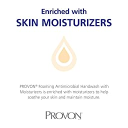 Provon 518603CT Foam Handwash, Moisturizer, Light Floral, FMX-12 Dispenser, 1250mL Pump, 3/Ctn
