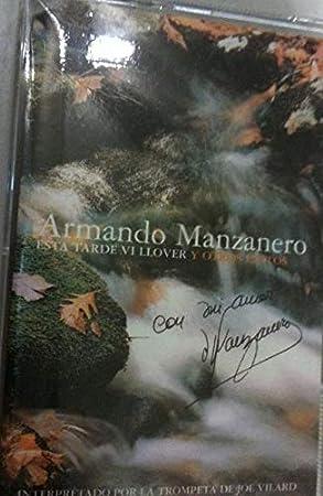 ARMANDO MANZANERO - ESTA TARDE VI LLOVER Y OTROS EXITOS- CASETE NUEVO Y PRECINTADO -ÉXITOS IMPRESCINDIBLES-
