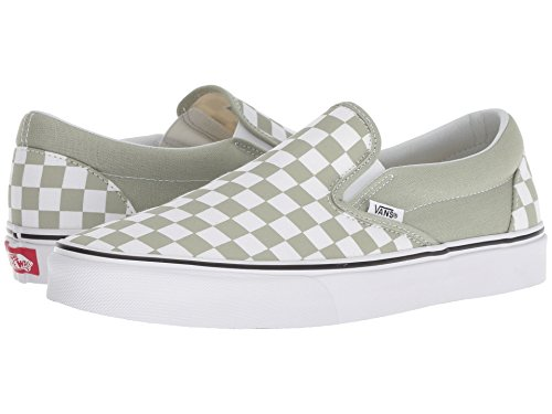 Skate On Shoes True Desert Checker White Sage Classic Vans Slip q6SInwWPxv