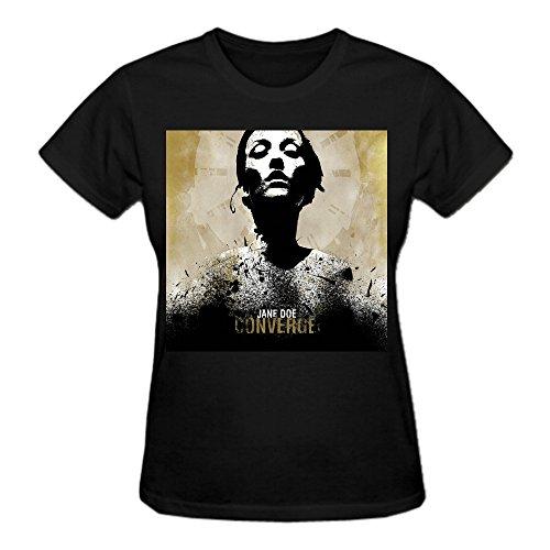 0% Cotton Cotton T Shirt For Women O-Neck Black (Mtvs 100 Greatest Pop)