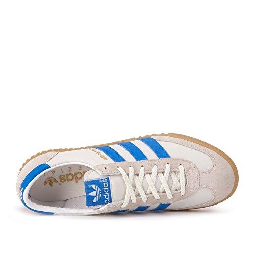 Adidas Uomo Indoor Kreft Spzl (bianco / Bianco Gesso / Blu Brillante) Bianco / Bianco Gesso / Blu Brillante