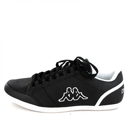 Kappa Kent Herren Sneakers Schwarz - Weiß