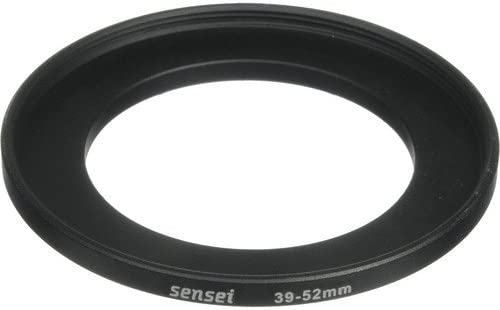 4 Pack Sensei 39mm Lens to 52mm Filter Step-Up Ring