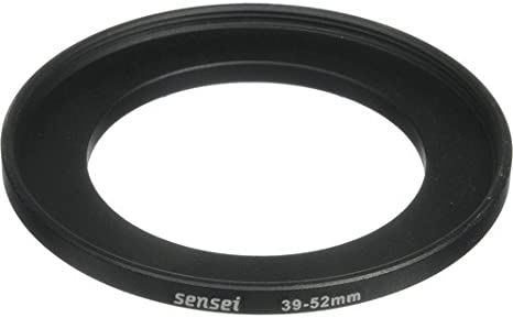 Sensei 39mm Lens to 52mm Filter Step-Up Ring 2 Pack