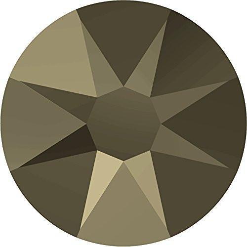 2000、2058 & 2088スワロフスキーNail Art Gemsクリスタルメタリックライトゴールド SS30 (6.4mm) - 288 Crystals (Wholesale) 10017577 B076B6MNY8  SS30 (6.4mm) - 288 Crystals (Wholesale)