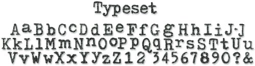 Sizzix Sizzlits Decorative Strip Alphabet Die - Typeset by Tim - Alphabet Dies Sizzix