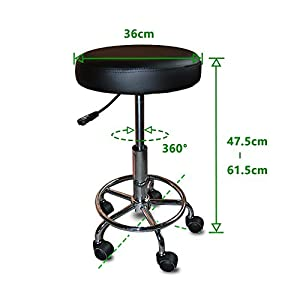 Health line products new adjustable rolling pneumatic for 360 the colour bar salon
