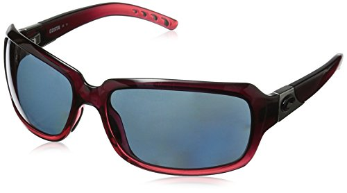 Pol Gray Sunglasses - Costa del Mar Isabela Sunglasses Pomegranate Fade/Gray 580Plastic