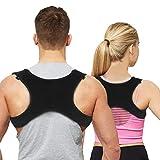 Belletek Posture Corrector Back Brace for Women & Men& Kids | Prevents Slouching & Hunching, Upper Back & Neck Pain Relief | Orthopedic Shoulder & Clavicle Support Brace for Kyphosis Scoliosis