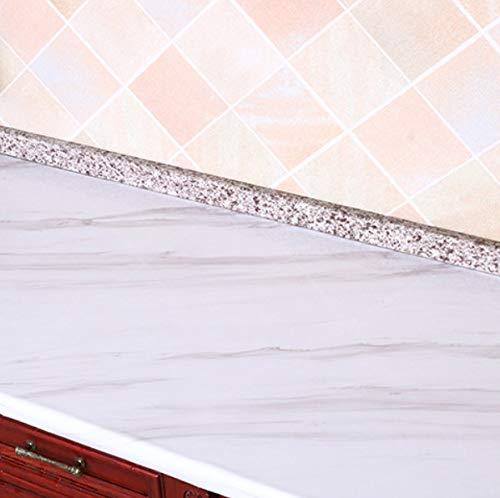 fenjinsheng Carrelage Adhesif Mural 60X300Cm Autocollant Imitation Autocollant Marbr/é Papier Peint De R/énovation De Meubles De Cuisine Imperm/éable