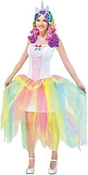 Partilandia Disfraz Unicornio para Mujer (S): Amazon.es: Juguetes y ...