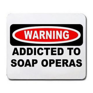 warning-addicted-to-soap-operas-mousepad-office-product