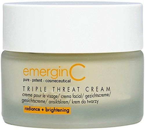 emerginC Triple-Threat Cream - Moisturizer with Retinol + Glycolic Acid for Uneven Skin Tone (1.6 Ounces, 50 Milliliters)