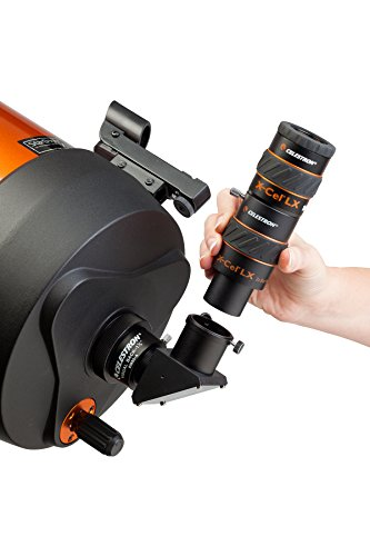 A barlow lens attaching to a telescope