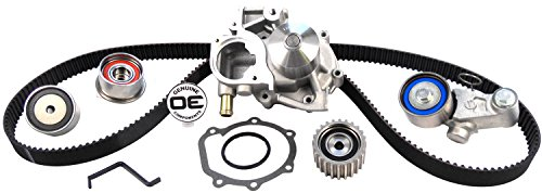 ACDelco TCKWP304A Professional Timing Belt and Water Pump Kit with Tensioner and 3 Idler Pulleys