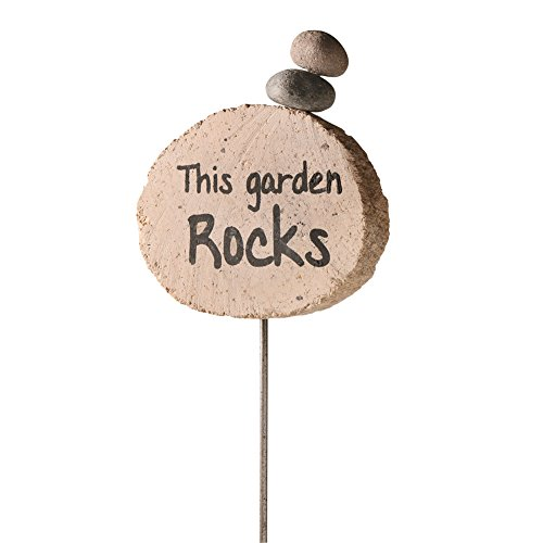 This Garden Rocks Garden Stake - Stacked Stones (Stacked Presents)