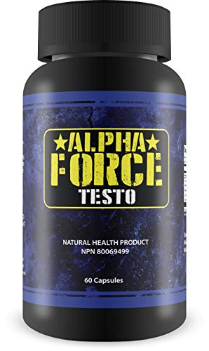 Alpha Force Testo-Anabolic Activator for Muscle Size and Recovery - Increases Natural Test Levels, Energy, Muscle Mass, and Accelerates Fat Loss(60 ()