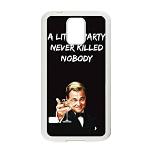 Samsung Galaxy S5 Cell Phone Case White Wolf Of Wall Street G7659858