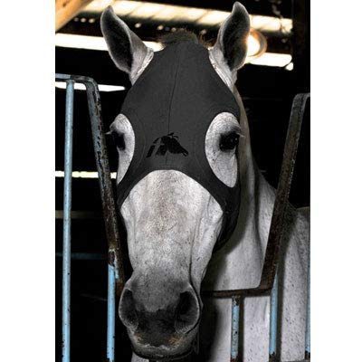 Fenwick Liquid Titanium Therapeutic Horse Mask - Grey - Large