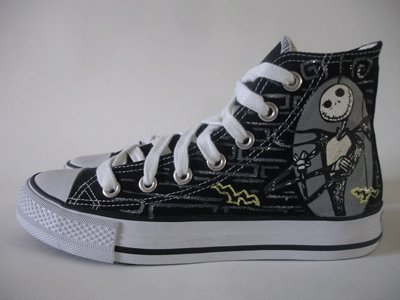 48e30a93dc97 Nightmare before christmas converse all star size 9  Amazon.co.uk  Kitchen    Home