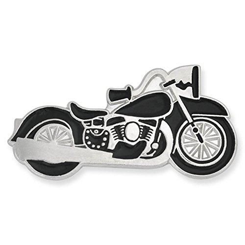 Bike Brooch Pin (PinMart Motorcycle Biker Chopper Enamel Lapel Pin)