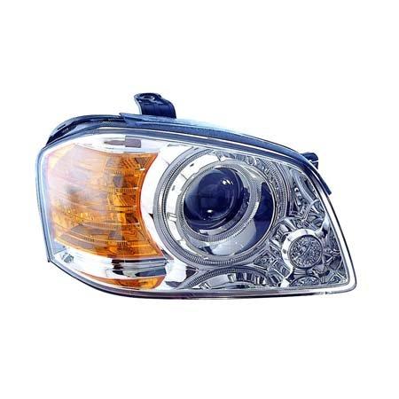 (Fits Kia Optima/Magentis 2003-2004 Headlight Assembly w/Low Beam Passenger Side (CAPA Certified) KI2503114C)