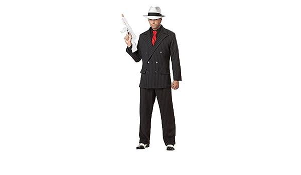 Disfraz de Gánster para hombre L: Amazon.es: Juguetes y juegos