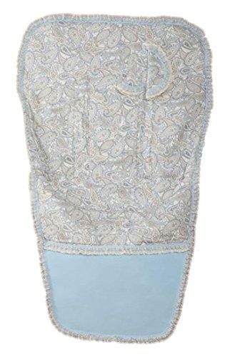 Babyline Caramelo - Colchoneta para silla de paseo, color azul