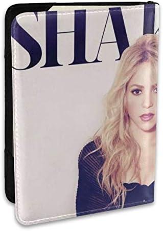 シンガー シャキーラ Singer Shakira パスポートケース メンズ 男女兼用 パスポートカバー パスポート用カバー パスポートバッグ ポーチ 6.5インチ高級PUレザー 三つのカードケース 家族 国内海外旅行用品 多機能