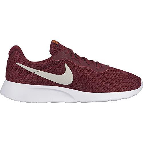 Nike Men's Tanjun Shoe Team Red/Light Bone/Cinder Orange Size 11.5 M US