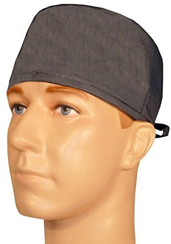 Mens and Womens Surgical Scrub Cap - Dark Grey (Men Surgical Caps compare prices)