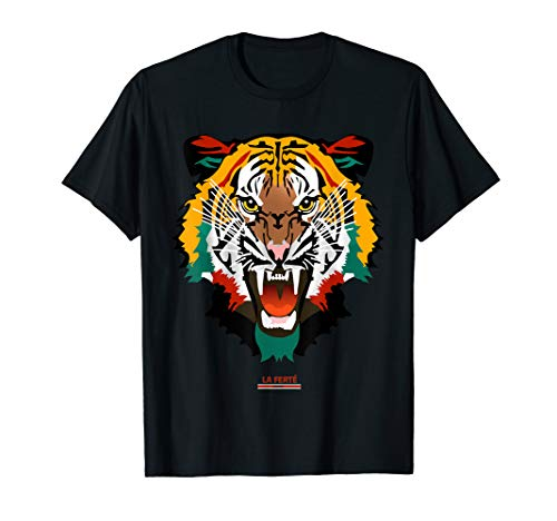 - Shirt With Tiger Face Tiger T-Shirt Fashion Graphic Tees