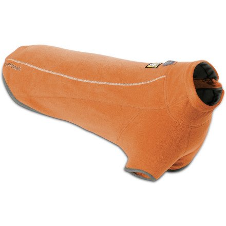 Ruffwear Climate Changer Fleece Jacket, Burnt Orange, X-Small, My Pet Supplies