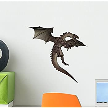 Dragon Wall Decal By Wallmonkeys Peel And Stick Graphic (12 In W X 11 In