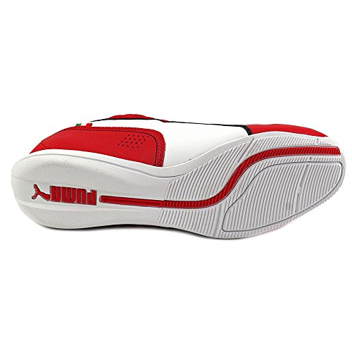 Puma Heren Drift Cat 6 Sf Enkellaagse Synthetische Sneaker Rosso Corsa / Wit