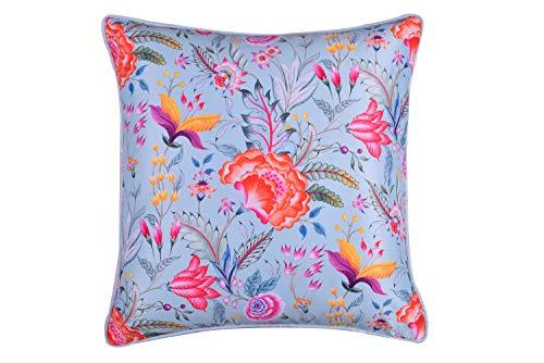 Decozen Exquisite Chintz Cushion Whiteout Print 5 600 GMS 20