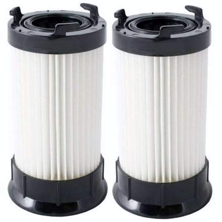 Parts Ge Vacuum - Casa Vacuums 2 Eureka DCF-4 DCF-18 Washable & Reusable Long-Life Vacuum Filter; Replaces Eureka GE DCF1 DCF4 DCF18 Part # 62132 63073 61770 3690 18505 28608-1 28608B-1