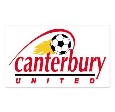 Canterbury United FC - New Zealand Football Soccer Futbol - Car Sticker - - Canterbury Zealand Stores Of New