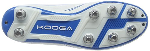 Kooga Warrior 2, Rugby homme - Blanc (White/Blue), 48 EU